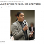 Race, lies and video