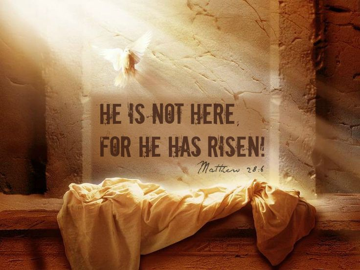 He Is Risen, Indeed!