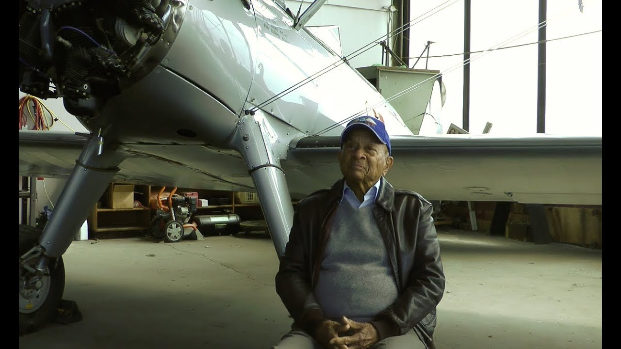 One of the Last Tuskegee Airmen, Lt. Col. Harry Stewart, Reflects On Soaring To Glory
